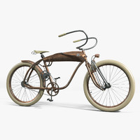 maya photoreal bicycle