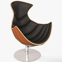 3d lobster chair armchair