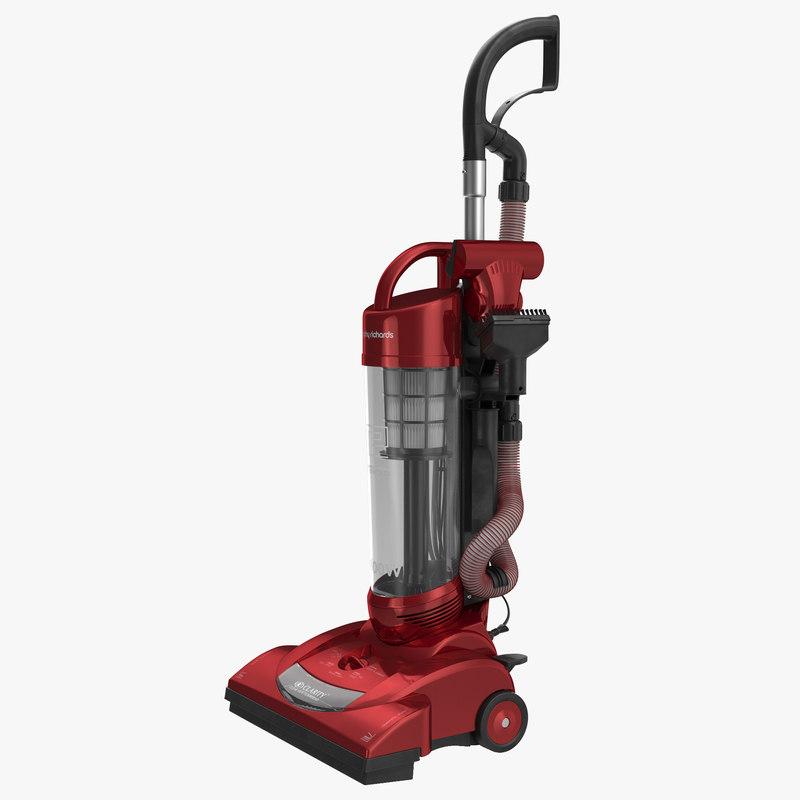 Upright Vacuum Cleaner 3d model 00.jpg
