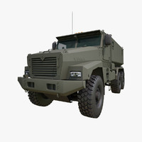 ural typhoon mrap 3d model
