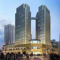 3d store skyscraper