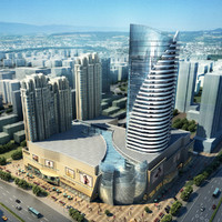 3d store skyscraper model