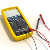 fluke multimeter meter 3d model