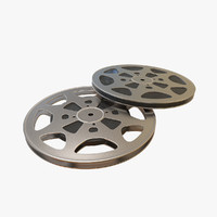 film rolls 3d model