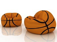 3ds max basketball chair bag