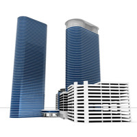 skyscraper city 3d 3ds