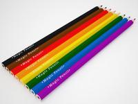 colored pencils 3d max