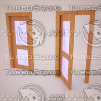 door stained-glass window 3d model