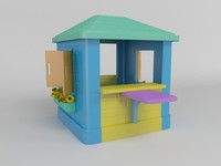 children playhouse 3d model