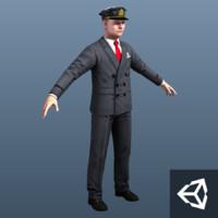 prison guard pilot games 3d max