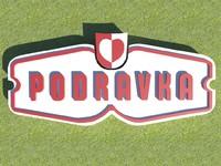 podravka logo 3d model