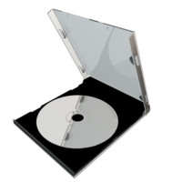 compact disc 3d max
