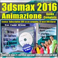 Corso 3ds max 2016 Animazione Guida Completa 12 Mesi Subscription