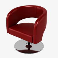 3d choo chair design swivel model