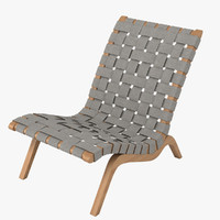 3d model grant featherston relaxation chair furniture