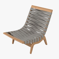 3d grant featherston relaxation chair furniture model