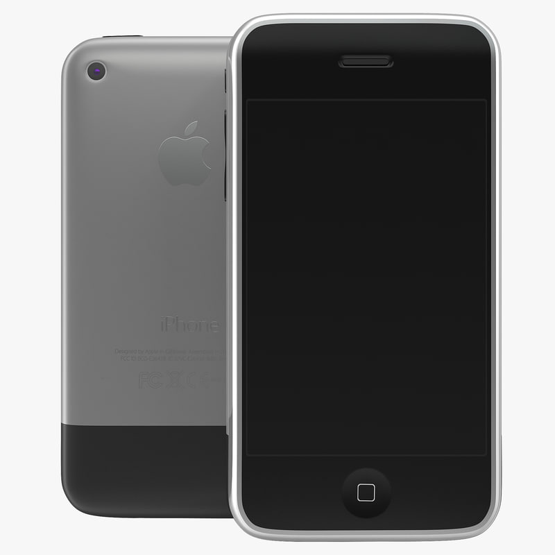 3d model of Apple iPhone 2 00.jpg