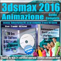 3ds max 2016 Animazione Guida Completa 3 Mesi Subscription