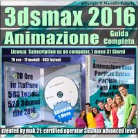 3ds max 2016 Animazione Guida Completa 1 Mese Subscription