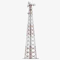 3d cellphone tower