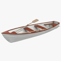 rowing boat 4 3d 3ds