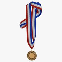 3d award medal 3 bronze