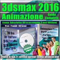 3ds max 2016 Animazione Guida Completa  6 Mesi Subscription