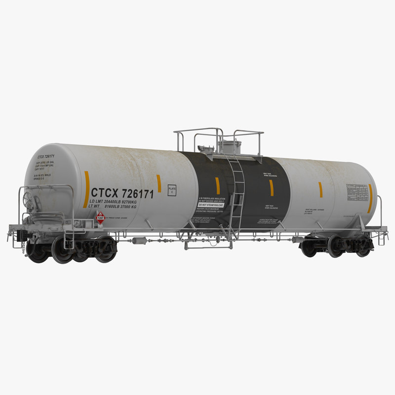 3d model of Railroad Tank Car 00.jpg