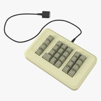 3d apple iie numeric keypad
