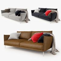 moroso gentry 2 seater 3d max