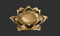 3d lotos model