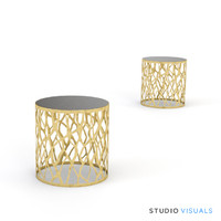 Organics End Table Perspective