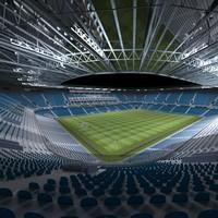 football stadium 3d ma