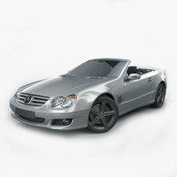 mercedes-benz sl 500 3d model