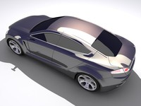 concept car iosis 3d 3ds