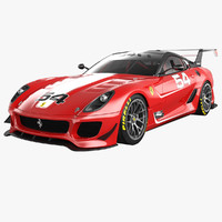 3d ferrari 599xx evo model