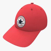 3d converse hat