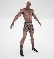 3ds max monster rigged