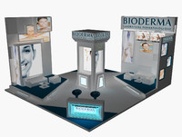 stand exhibition booth 3ds