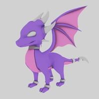 3dsmax dragon spyro
