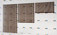 bamboo blinds 3d c4d