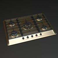 3d cooktop model
