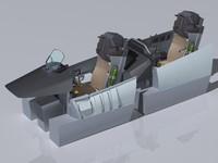 f-15e cockpit 3ds
