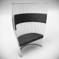 3d southbeach chair