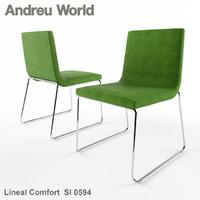 3ds max andreu world lineal comfort