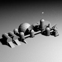 maya space base