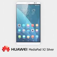 3ds max huawei mediapad x2 silver