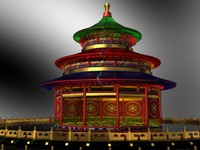 3dsmax chinese building