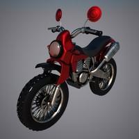 3d model motocross