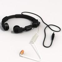 3d throat mic
